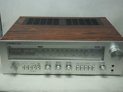 Vintage CONCEPT MODEL 3.5 AM/FM Stereo Receiver Works Great! Free Shipping!