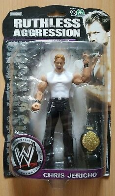 WWE Chris Jericho Jakks Ruthless Aggression 34 Figur Neu OVP