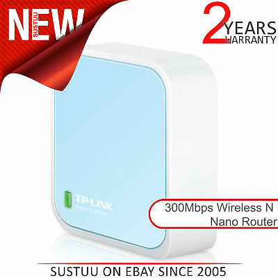 TP-Link Universal 300 Mbps Wireless N Nano Travel Router 2.4GHz│USB Powered│NEW