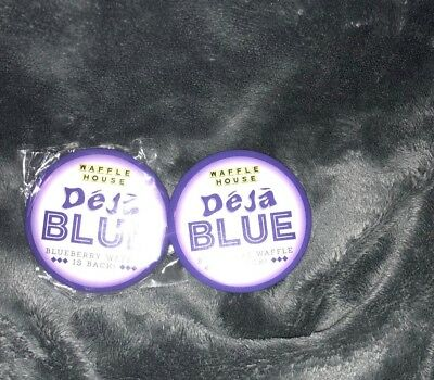 Back By Popular Demand Brand New Blueberry Deja Blue Waffle House Button/pin