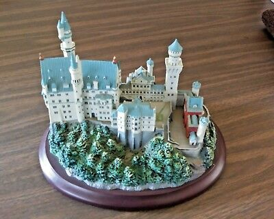 Neuschwanstein Castle Lenox Great Castles of the World Collection Collectible