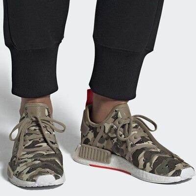 57c6dc284 ADIDAS ORIGINALS NMD R1 Clear Brown Solar Red MEN S COMFY SHOE LIFESTYLE  SNEAKER