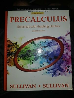 Brand new usa hardcover precalculus enhanced with graphing utilities precalculus enhanced with graphing utilities michael sullivaninstructor ed fandeluxe Choice Image