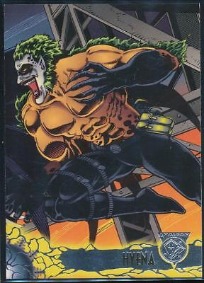 1996 Amalgam Trading Card #78 Hyena vs. Dark Claw