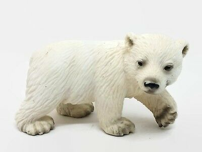 Papo 50143 Polar Bear Cub Playing Model Animal Toy Replica NIP