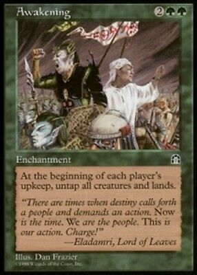 [1x] Awakening [x1] Stronghold Near Mint, English -BFG- MTG Magic