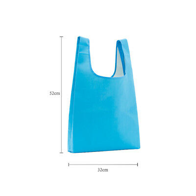 1PC Daily Folding Shopping Bags Reusable Grocery nylon Handbag Eco Friendly RT23