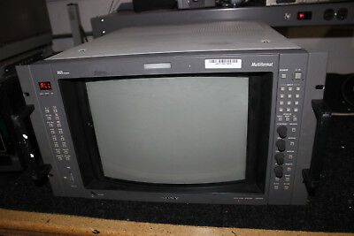 Sony BVM-A14F5U Broadcast Video Monitor  Needs work for repair