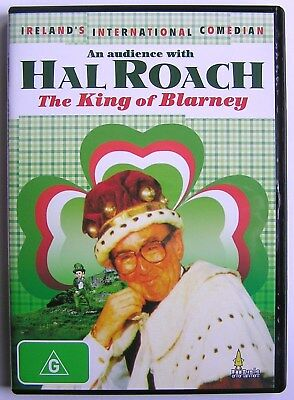 An Audience With Hal Roach The King Of Blarney (1988) Dvd Ireland's Comedian