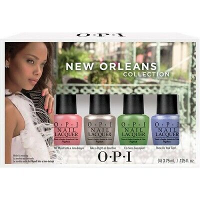 [OPI] Nail Polish Lacquer NEW ORLEANS Limited Edition 4pcs Set NEW