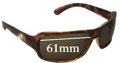 SFx Replacement Sunglass Lenses fits Ray Ban RB4075 - 61mm Wide