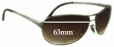 627b04f1972 SFx Replacement Sunglass Lenses fits Ray Ban Warrior RB3342 - 63mm wide