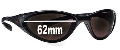 SFx Replacement Sunglass Lenses fits Nike Interchange Round - 62 mm wide