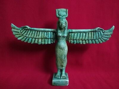 Ancient Egyptian statue of Winged ISIS ( 323–30 BCE)