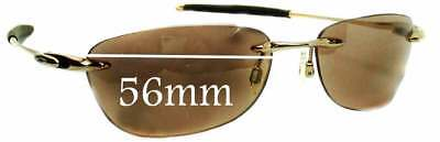 SFx Replacement Sunglass Lenses fits Oakley Why 8.0 - 56mm Wide