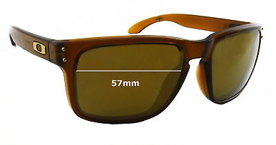 05f0f14e74 SFx Replacement Sunglass Lenses fits Oakley Holbrook OO9102 - 57mm Wide
