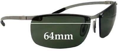 SFx Replacement Sunglass Lenses fits Ray Ban Tech RB8306 - 64mm Wide - Professio