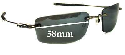 SFx Replacement Sunglass Lenses fits Oakley Why 8.2 - 58mm Wide