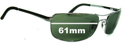 SFx Replacement Sunglass Lenses fits Ray Ban RB3212 - 61mm Wide
