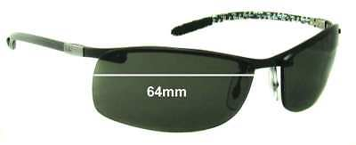 SFx Replacement Sunglass Lenses fits Ray Ban Tech RB8305 - 64mm Wide - Professio