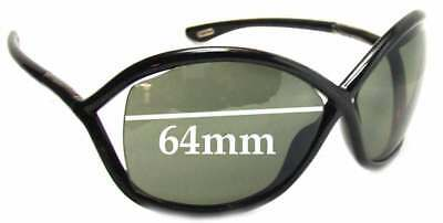 5fd5829ff54c0 SFx Replacement Sunglass Lenses fits Tom Ford FT0009 Whitney - 64mm Wide