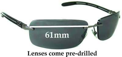 SFx Replacement Sunglass Lenses fits Ray Ban RB8304 - 61mm Wide
