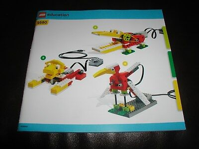 New 2009 Lego Wedo Education Teaching Manual Instructions For Wedo