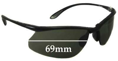 SFX Replacement Sunglass Lenses fits Bolle//Vuarnet L.L.Bean Glacier Aviator 59mm