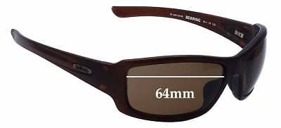 SFx Replacement Sunglass Lenses fits Revo RE4057 Bearing - 64mm Wide