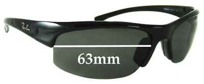 SFx Replacement Sunglass Lenses fits Ray Ban RB4039 - 63mm Wide