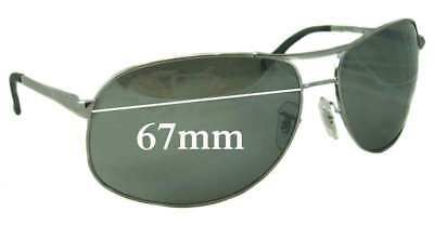 SFx Replacement Sunglass Lenses fits Ray Ban RB3387 - 67mm wide