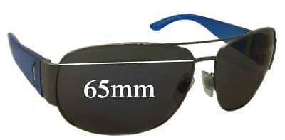 SFX Replacement Sunglass Lenses fits Ralph Lauren Polo 3009 60mm Wide
