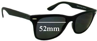 d305f23c9a SFx Replacement Sunglass Lenses fits Ray Ban RB4195 Liteforce - 52mm Wide