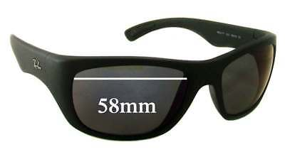 SFx Replacement Sunglass Lenses fits Ray Ban RB4177 - 58mm Wide