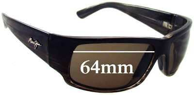 06d1bb97d4b56 SFx Replacement Sunglass Lenses fits Maui Jim MJ266 World Cup - 64mm Wide