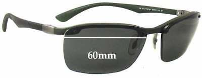 bf433f702ff SFX REPLACEMENT SUNGLASS Lenses fits Ray Ban PS Hunter RB4038 - 65mm ...
