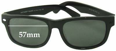 85bf0608a2 SFx Replacement Sunglass Lenses fits Ray Ban RB2140 Wayfarer Square - 57mm  wide