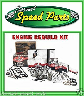 1980-1990 Enginetech BBC Chevy 454 7.4L Engine Remain Kit Rings Gaskets Bearings