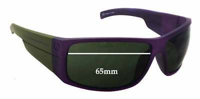 SFx Replacement Sunglass Lenses fits Electric Mud Slinger - 65mm wide - 42mm tal