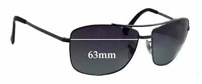 41b42449dbf SFX REPLACEMENT SUNGLASS Lenses fits Ray Ban RB8310 - 63mm wide ...