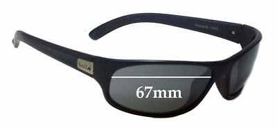 SFx Replacement Sunglass Lenses fits Bolle Anaconda 11672 - 67mm Wide