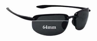 777b78d030 SFx Replacement Sunglass Lenses fits Maui Jim Ho'okipa MJ807 - 64mm wide