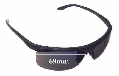 SFx Replacement Sunglass Lenses fits Ray Ban RB4085 - 69mm Wide