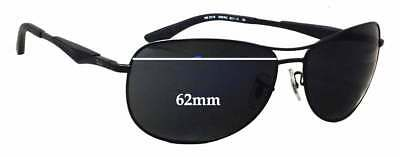 SFx Replacement Sunglass Lenses fits Ray Ban RB3519 - 62mm wide