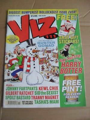 Viz Issue 111 Adult Humour Rude