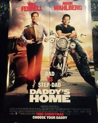 DADDYS HOME Authentic 27x40 D/S Movie Poster.