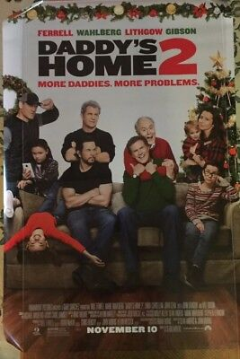 DADDYS HOME 2 Authentic 27x40 D/S Movie Poster.
