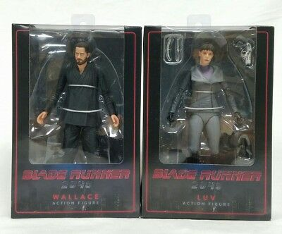 """Wallace & Luv Blade Runner 2049 7"""" Scale Action Figures NECA New"""