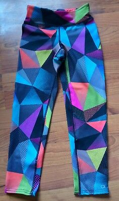 Gap Fit Kids Girl Dry Fitness Lounge Pull On Leggings Athletic Large S Small