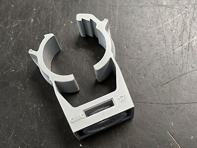 50 ea. Clic  #17 Bracket Pipe Clamp Hanger Support-Made in Switzerland - F. Ship